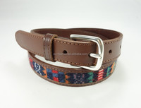 Ladys fashion fancy beautiful vintage leather belt
