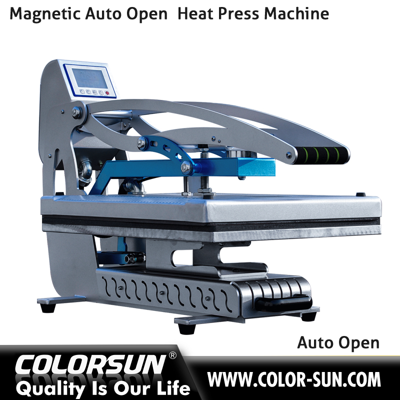 cheap thermal thermo press transfer machine for tshirts