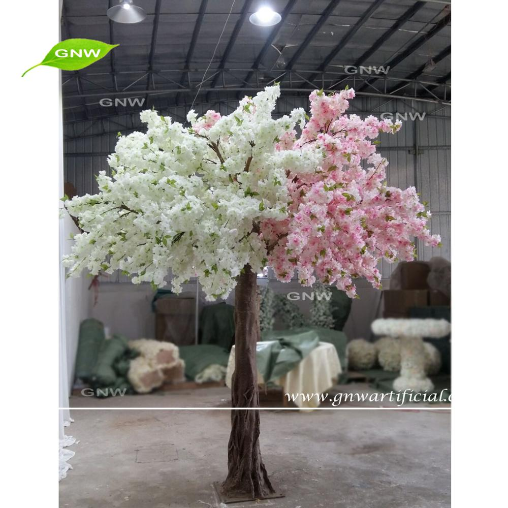 GNW BLS1705005 High simulation Artificial Cherry blossom Tree for Wedding decoration