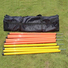 Adjustable Folding Plastic Pole agility training soccer equipment sports equipment pole agility pole