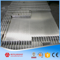 ADTO Group China High Quality Welded Steel Bar Grating Heavy Duty Standard Size Weight For Walkway/Flooring/Ramps For Sale 2016