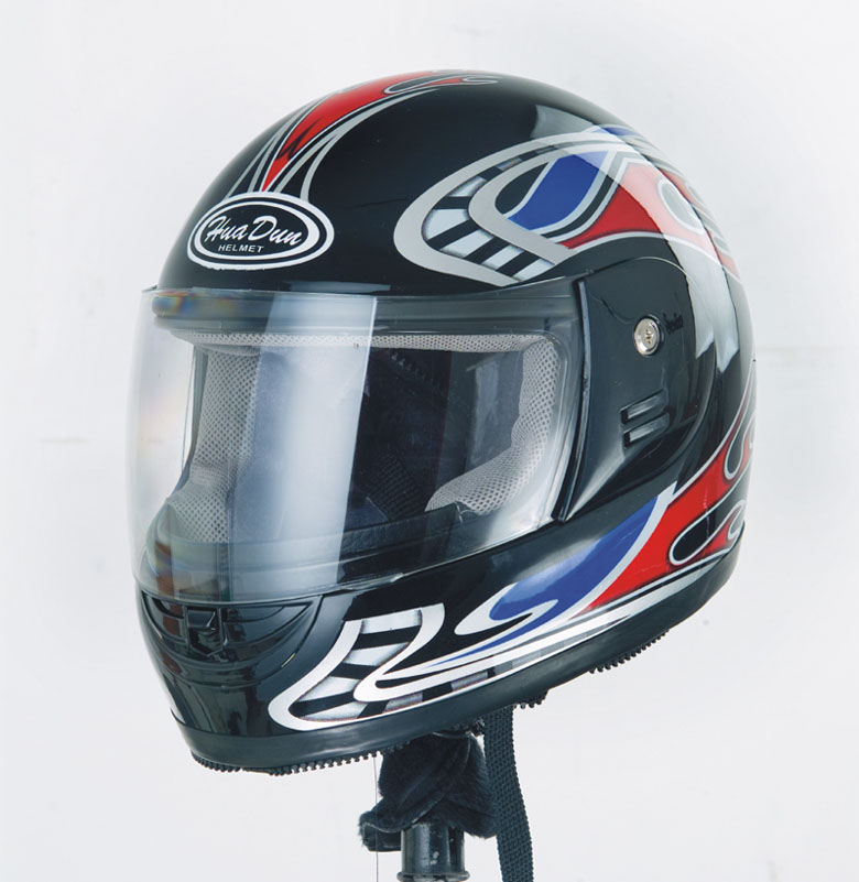 Good quality with low price ABS material full face for motorcycle helmet