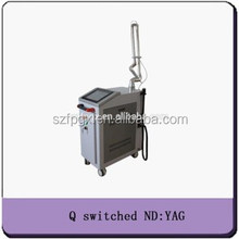 q-switch nd yag laser long impulse medical tattoo rmeoval/CE