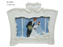 Porcelain white picture frames for wedding