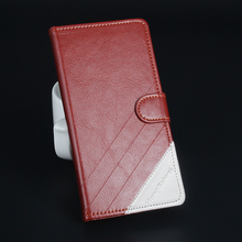 Leather Folio Mobile Phone Case Back Cover for Lenovo A5000 5 inch