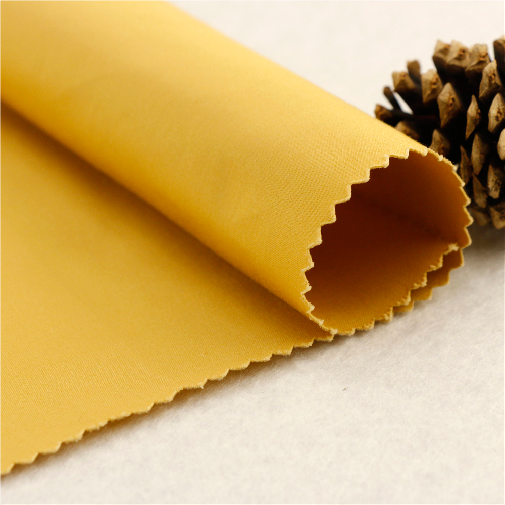 60*40+40D/235x120 260gsm 154cm yellow silk cotton strip fabric cotton sateen printed fabric