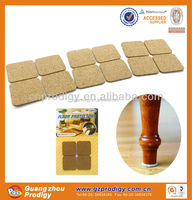 furniture adhesive cork rubber flooring furniture protector cork sticky cork pad
