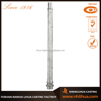 B008-1 Aluminum Material and Street Application Decorative Lighting Pole