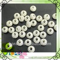 14mm diamater with 5mm large hole shamballa rhinestone beads