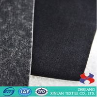 Main product novel design organic cotton polyester denim fabric wholesale