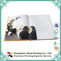 Alibaba China Matt Lamination Hardcover Children Picture Frame Book Printed