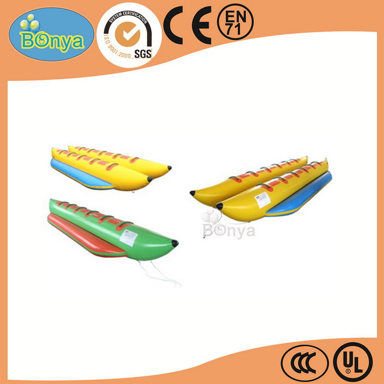 Cost price reliable quality 2016 inflatable banana boat/kayaks