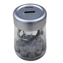 plastic digital money jar coin counter and sorter machine plastic money saving jar Electronics coin money jar