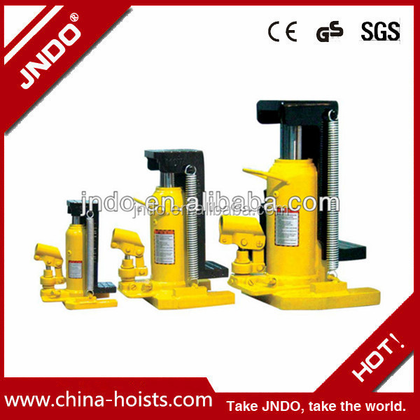 Hot sell Used in car lifting equipment toe type Jack