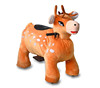 MZ5954 christmas kids gift on December zippy ride from china factory coin operated animal rider for sale