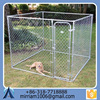 2015 Various useful customizable high quality wrought iron galvanized low price fashionable outdoor dog cage/kennel
