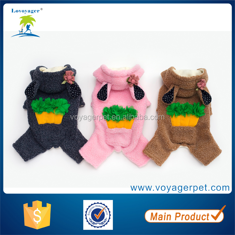 Lovoyager High Quality Radish Lovable Dogs Dog Clothes Hot Pet Clothes Pet Clothing