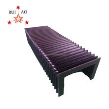 accordion linear way PUR protective bellows cover
