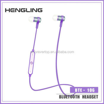 Hot selling wholesale high quality bluetooth stereo earphone