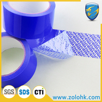 anti theft anti counterfeiting packing transfer VOID tamper evident Security packing tape