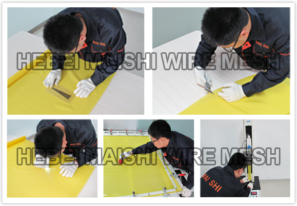 72T- 48 polyester screen printing mesh