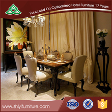 Upscale dining room dining table and chair,karachi furniture dining table,hideaway dining table and chair set