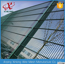 2017 Hot selling powder coated double ring wire mesh fence panel