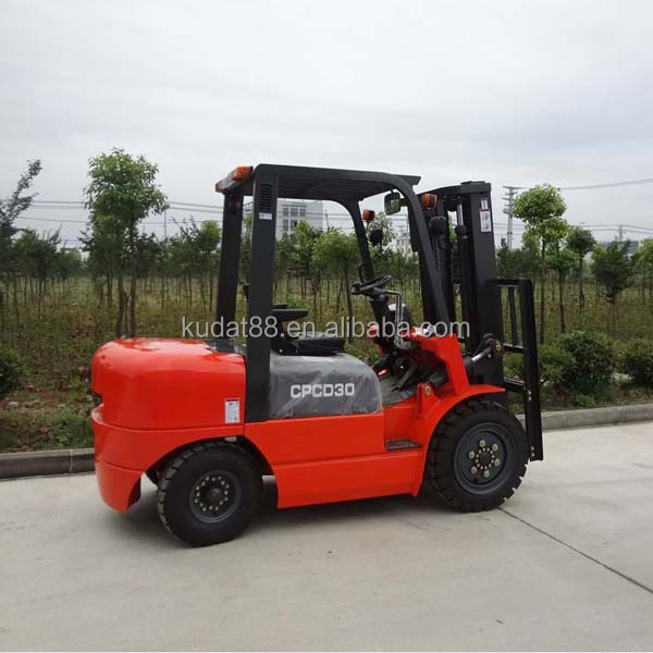 CPCD30 3tons forklift bucket with Japan C240PKJ engine