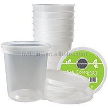 Commercial Restaurant Quality Perfect for Home use 32oz plastic soup/Food container with lids