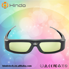 Hot sell shen zhen active dlp-link 3d glasses for acer/benq/dell/optoma/viewsonic projector