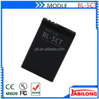 bl-5ct 1050mAh fly mobile phone battery for NOKIA 5220XM 6303C 6730C C3-01 C3-01m C5-00 C5-02 C6-01