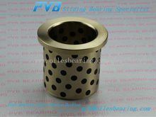2087.71.020.022.Bushing Sliding Bearing Bronze,Bronze Graphite Flange Sleeve Bushing,Self Lubricating Bearing