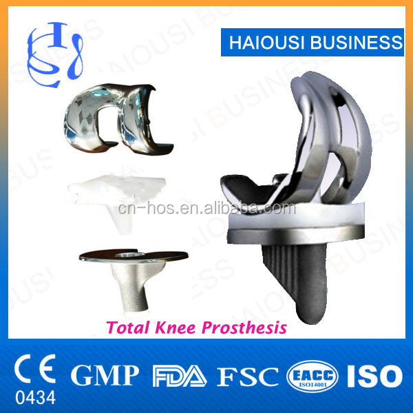 Artificial Knee Prosthesis,orthopedic products knee & hip joint implants,prothesis replacement,CE4