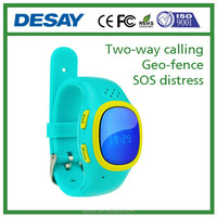 Desay SIM Card GPS/LBS Geo-fence SOS Historical Track GSM (2G)SIM Watch DS-C601 IOS Android APP for child