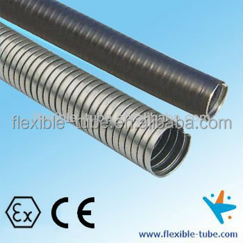 pvc coated interlocked metal flexible conduit