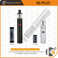 mechanical model kit removable battery high wattage kamry x6 plus e cigarette wholesale