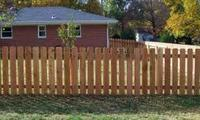 Cheap price cedar wooden garden fence design