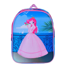 Novelty Cheap Cute Cartoon Princess Printing EVA School Backpack Bag for Girl Kids