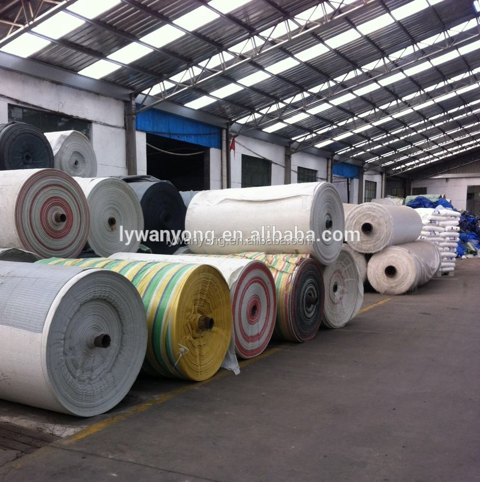fire retardant PE tarpaulin fabric materials canvas tarpaulin