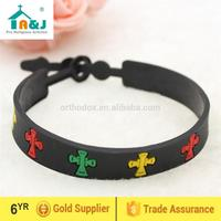 Eco-Friendly Material christian silicone bracelet New Design