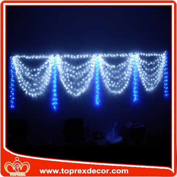 Toprex manufacturer hot party stage decoration led curtain light