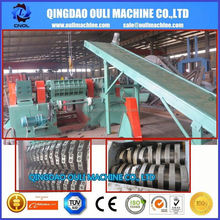 CE TUV SGS Certification Car Used Tire Disposal And Recycling Machine