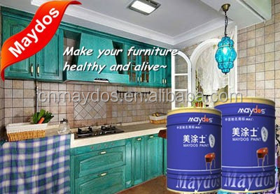 Maydos two component polyurethane Gloss wood Paint/wood varnish