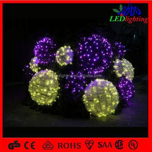 Rgb Waterproof Led Ring Light Led Ball Rgb Led Ball Rechargeable led ball light outdoor
