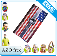 New Fashion Wholesale Seamless Flag Bandana Head Scarf Head Wrap
