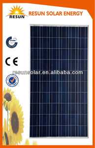 high quality photovoltaic roof tiles with CE and TUV certificates 250W poly solar panel