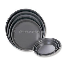 non-stick aluminum alloy bakeware round shaped pizza baking pan