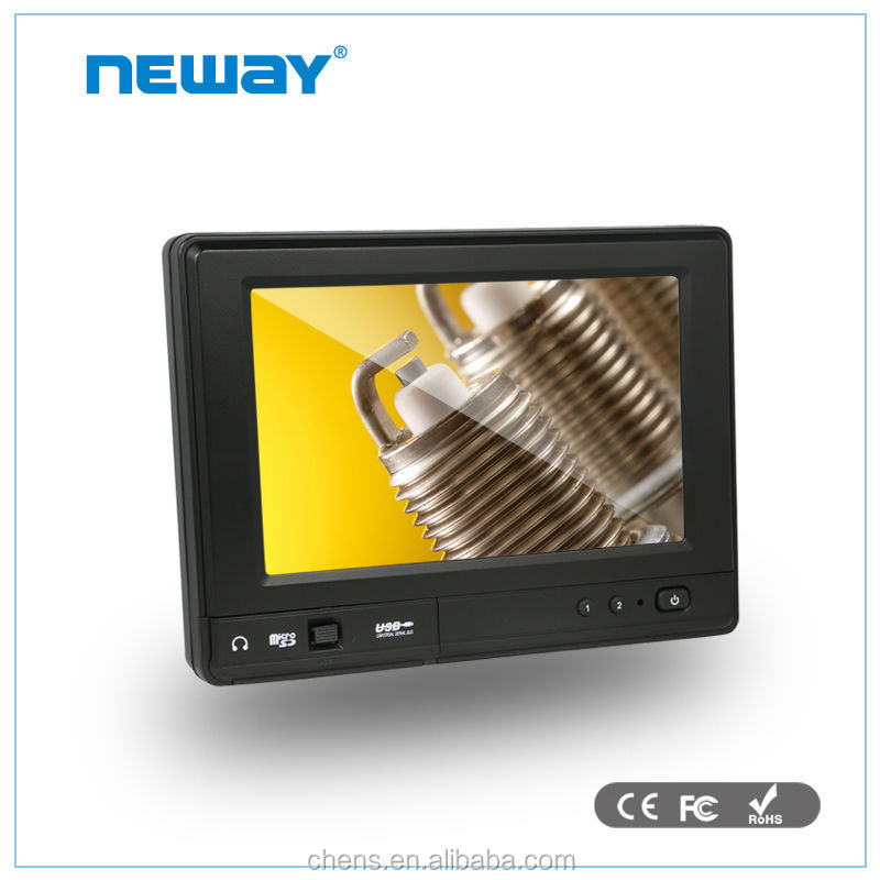 Linux OS Available multi interface LCD mini embedded Industrial LCD touchscreen monitor with built in computer
