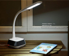 WILIT Bluetooth Speaker Touch Dimmer led flexible desk lamp with 5V/1A usb output