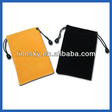 custom gifts bags promotional bags velvet pouch for gift pcking